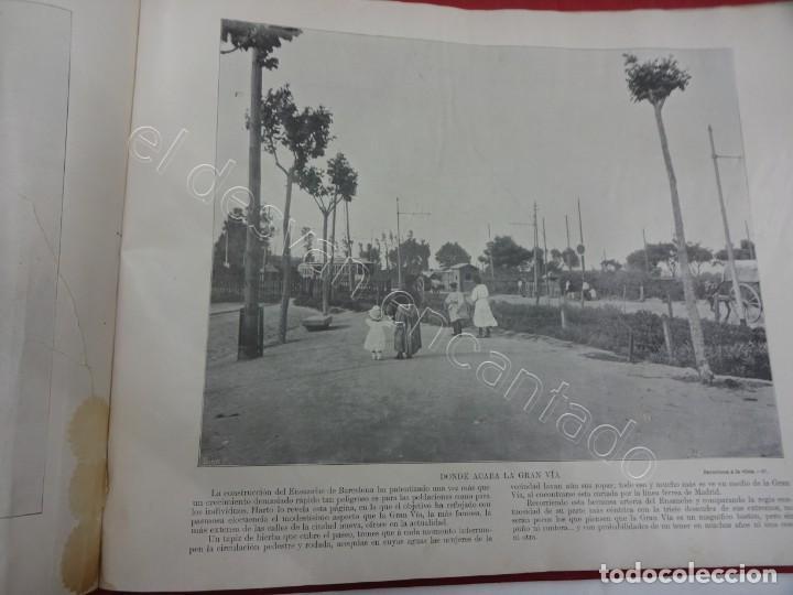 Fotografía antigua: BARCELONA a la vista. Fotografías de la capital y alrededores. Album Libreria Española - Foto 5 - 213775811
