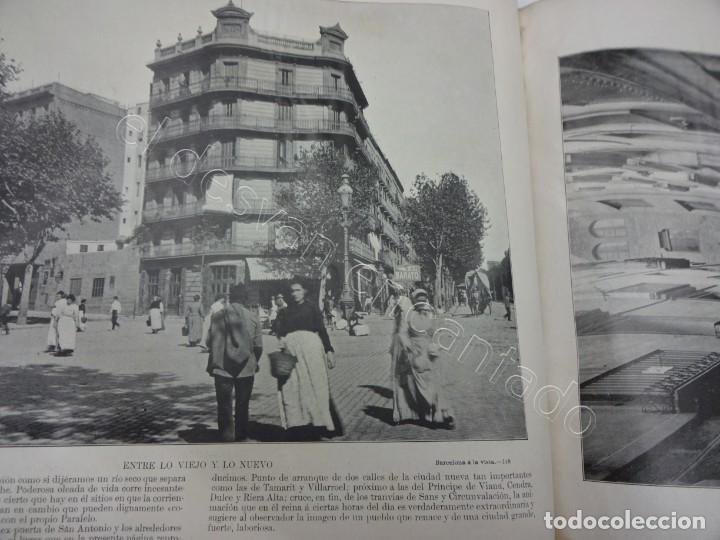 Fotografía antigua: BARCELONA a la vista. Fotografías de la capital y alrededores. Album Libreria Española - Foto 8 - 213775811
