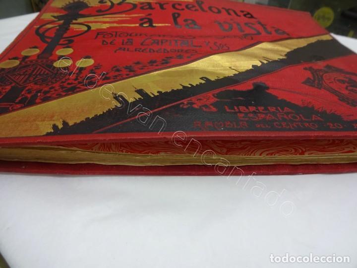 Fotografía antigua: BARCELONA a la vista. Fotografías de la capital y alrededores. Album Libreria Española - Foto 12 - 213775811