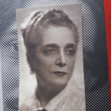 Fotografía antigua: FOTO ESCRITORA PILAR MILLAN ASTRAY ORIGINAL FOTO ANGEL JALON ZARAGOZA FIRMADA. Lote 214100781