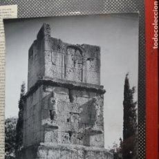 Fotografía antigua: EXCEPCIONAL FOTO ORIGINAL DE CATALA ROCA , TARRAGONA TORRE ESCIPIONES CATALUÑA SELLO HUMEDO 24X18 CM. Lote 214100893