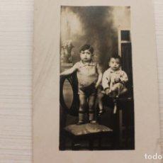 Fotografia antica: FOTOGRAFIA, FOTOGRAFO ANGEL CALLE SANS, BARCELONA, 12X7,50 CM CM. Lote 214721138