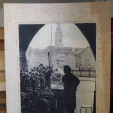 Fotografia antica: ZURICH, MUJER VENDIENDO FLORES.. PRECIOSA FOTOGRAFÍA ANTIGUA, AÑOS 50, AUSTRIA, FIRMADA, 35X30 CM. Lote 215137192