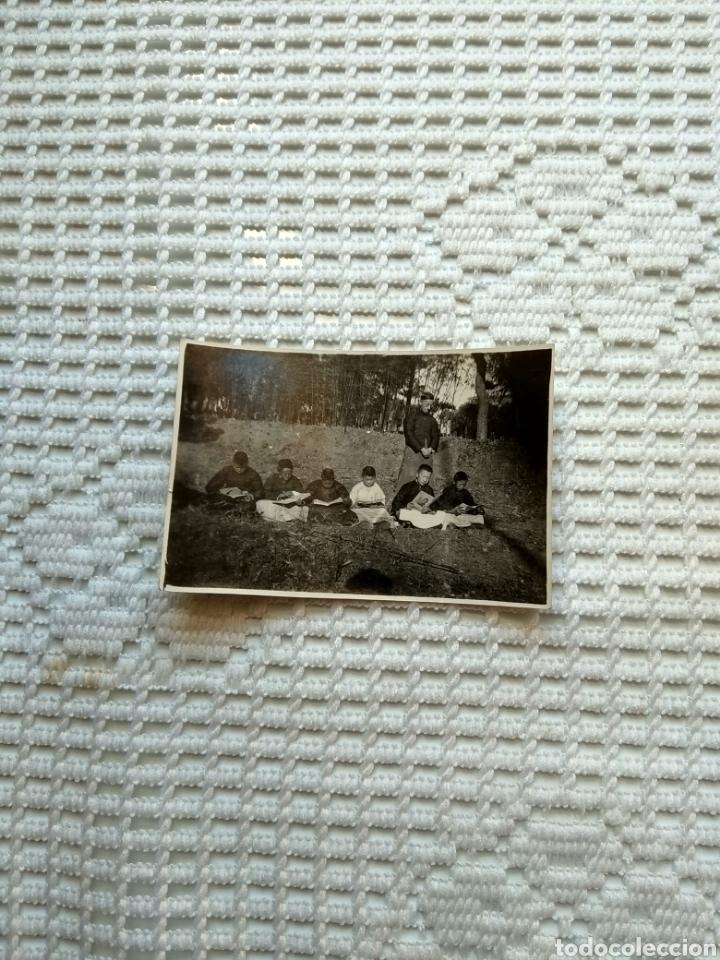 Fotografía antigua: FOTO NIÑOS CHINOS ESTUDIANDO PARA CURAS - Foto 2 - 215195231