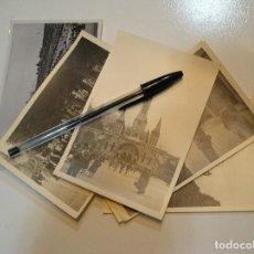 Fotografía antigua: LOTE DE 8 FOTOS FOTOGRAFIAS LOURDES (20-9-2). Lote 216845173