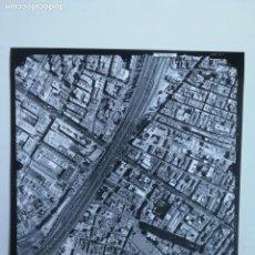 Fotografía antigua: ANTIGUA FOTOGRAFIA AÉREA DE MADRID EJERCITO DEL AIRE - 1997 - M-30, CIUDAD DE BARCELONA, NUMANCIA, A. Lote 217568743
