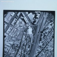 Fotografía antigua: ANTIGUA FOTOGRAFIA AÉREA DE MADRID EJERCITO DEL AIRE - 1997 - M-30, CIUDAD DE BARCELONA, NUMANCIA, A. Lote 217568912
