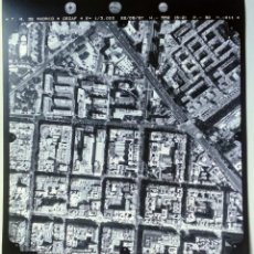 Fotografía antigua: FOTOGRAFIA AÉREA DE MADRID EJERCITO DEL AIRE - 1997 - AV. AMERICA, FRANCISCO SILVELA, MARIA MOLINA,. Lote 217569515