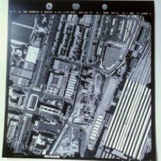 Fotografía antigua: FOTOGRAFIA AÉREA DE MADRID EJERCITO DEL AIRE - 1997 - ESTACIÓN CHAMARTIN, CASTELLANA, 4 TORRES CIUDA. Lote 217589958
