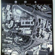 Fotografía antigua: FOTOGRAFIA AÉREA DE MADRID EJERCITO DEL AIRE - 1997 - HOSPITAL DE LA PAZ, ARZOBISPO MORCILLO, PARQUE. Lote 217590311