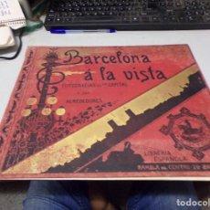 Fotografía antigua: PRECIOSO ALBUM BARCELONA A LA VISTA CON 192 FOTOGRAFIAS A TODA PAGINA. Lote 217710030