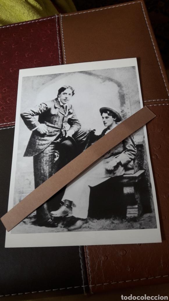 ANTIGUA POSTAL FOTOGRAFÍCA DE OSCAR WILDE Y ALFRED DOUGLAS (Fotografía - Artística)