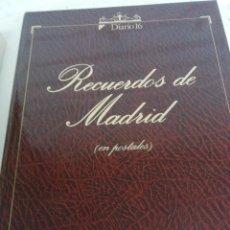 Fotografía antigua: RECUERDOS DE MADRID EN POSTALES. ÁLBUM CON 106 POSTALES RECOGIDAS DE LA CORRESPONDENCIA DE LA ÉPOCA.. Lote 218638966
