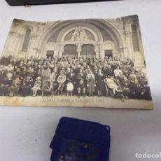 Fotografía antigua: FOTOGRAFIA 1926 GRUPO SARRIA SUPONGO BARCELONA A LOURDES. Lote 218781202