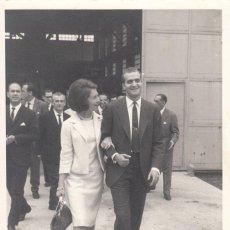 Fotografía antigua: FOTOGRAFIA 1981: VISITA REYES DE ESPAÑA AL PAIS VASCO / FOTO CLAUDIO - BILBAO. Lote 218979482