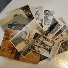 Fotografía antigua: FOTO FOTOGRAFIA FALLA FALLAS FALLEROS ACTOS FALLEROS LOTE DE 18 FOTOS (20-10). Lote 219664170