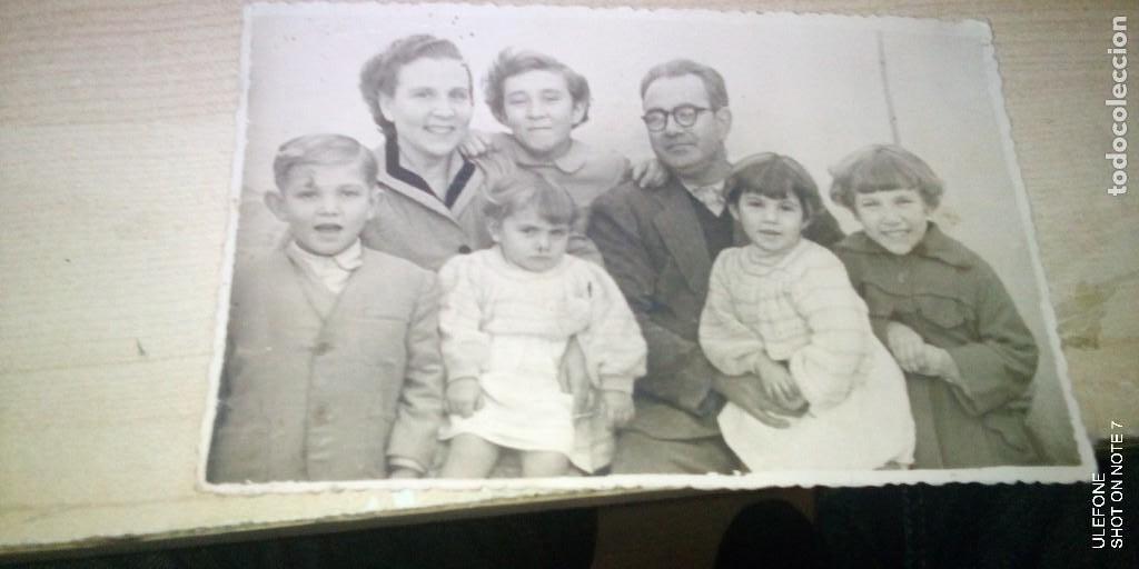 FOTO FAMILIAR NUMEROSA AÑOS 50 (Fotografía - Artística)