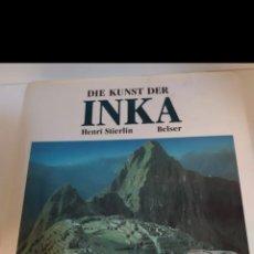 Fotografía antigua: DIE KUNST DER INKA. Lote 219912052