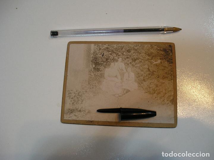 Fotografía antigua: ANTIGUA FOTO FOTOGRAFIA CARTON DURO 3 CHICAS BENICASIM AGOSTO 1901 (20-10-2) - Foto 7 - 221432736
