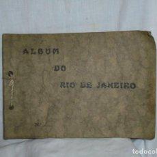 Fotografía antigua: ALBUM Nº 2 DO RIO DE JANEIRO 9 FOTOGRAFIAS LA ULTIMA DOBLE VER FOTOS. Lote 221498360