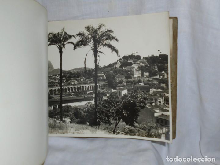 Fotografía antigua: ALBUM Nº 2 DO RIO DE JANEIRO 9 FOTOGRAFIAS LA ULTIMA DOBLE VER FOTOS - Foto 7 - 221498360