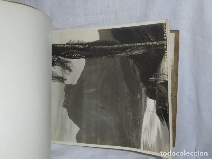 Fotografía antigua: ALBUM Nº 2 DO RIO DE JANEIRO 9 FOTOGRAFIAS LA ULTIMA DOBLE VER FOTOS - Foto 8 - 221498360
