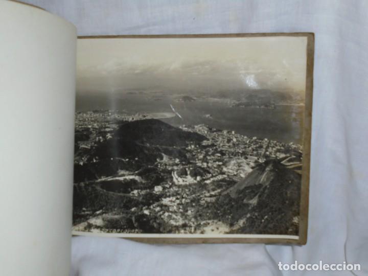 Fotografía antigua: ALBUM Nº 2 DO RIO DE JANEIRO 9 FOTOGRAFIAS LA ULTIMA DOBLE VER FOTOS - Foto 10 - 221498360