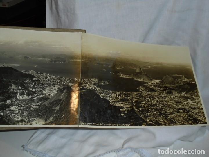 Fotografía antigua: ALBUM Nº 2 DO RIO DE JANEIRO 9 FOTOGRAFIAS LA ULTIMA DOBLE VER FOTOS - Foto 11 - 221498360