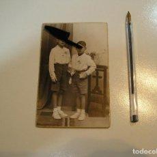 Fotografia antica: ANTIGUA FOTO FOTOGRAFIA CARTON DURO NIÑOS NIÑAS FOTOS INFANTILES COMUNION FOTO GAVILA (20-10-2). Lote 221726097