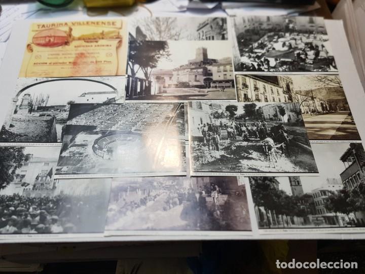 FOTOGRAFÍA HISTÓRICAS DE VILLENA COPIAS DE ORIGINALES LOTE 12 (Fotografía - Artística)