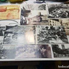 Fotografía antigua: FOTOGRAFÍA HISTÓRICAS DE VILLENA COPIAS DE ORIGINALES LOTE 12. Lote 263103580