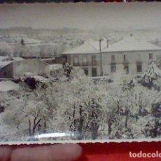 Fotografía antigua: VILLAGARCIA PONTEVEDRA FOTOGRAFIA VISTA NEVADA FOTO MARTIN SELLO DORSO 17 X 11,7 CMS APROX. Lote 222071343