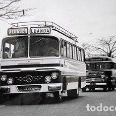 Fotografía antigua: ANGOLA, ÁFRICA COLONIAL PORTUGUESA. ESTRADA LUANDA DUNDO. COPIA VINTAGE 18 X 24 CM. Lote 222378415