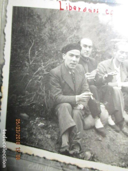 Fotografía antigua: FOTO ORIGINAL LIBERADOS CATALANES 28- I- 1938 EN BATALLA DE GUERRA CIVIL ESPAÑOLA LEGION cataluña - Foto 5 - 121317059