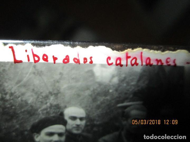 Fotografía antigua: FOTO ORIGINAL LIBERADOS CATALANES 28- I- 1938 EN BATALLA DE GUERRA CIVIL ESPAÑOLA LEGION cataluña - Foto 7 - 121317059