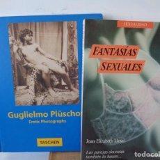 Fotografía antigua: LOTE, FANTASIAS SEXUALES, Y EROTIC PHOTOGRAPHS. GUGLIELMO PLUSCHOW, FOTOGRAFO DESNUDOS ARTISTICOS.. Lote 287839518