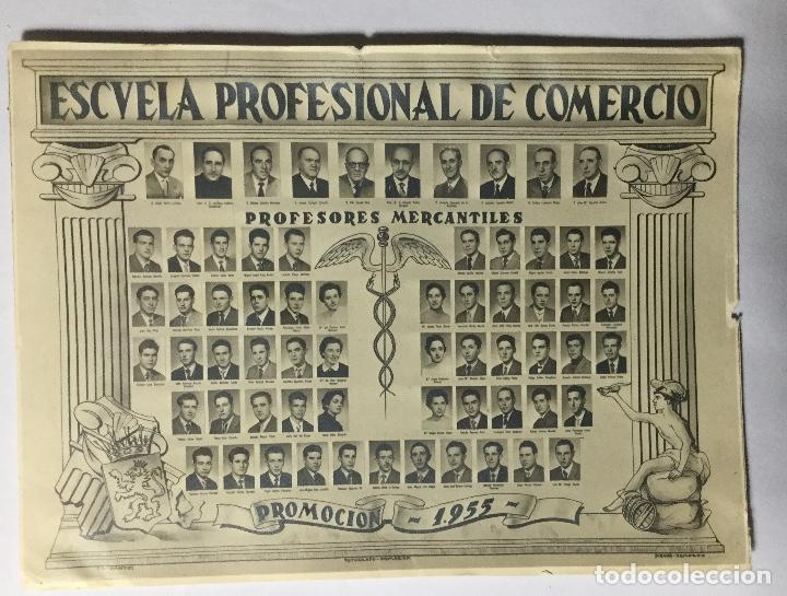 ZARAGOZA , ARAGÓN , ESCUELA PROFESIONAL DE COMERCIO , FOTOGRAFÍA POMARON 1955 , 15X11CM. (Fotografía - Artística)