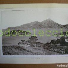 Fotografía antigua: FOTOGRAFIA LAMINA DE LA DRAGONERA Y SANT ELM - 100 AÑOS DE FOTOGRAFIA Nº 100. Lote 222857237