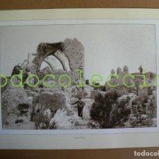 Fotografía antigua: FOTOGRAFIA LAMINA DEL CASTILLO DEL REY - 100 AÑOS DE FOTOGRAFIA Nº 98. Lote 222857706