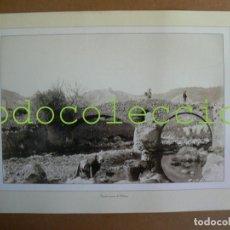 Fotografía antigua: FOTOGRAFIA LAMINA DEL PUENTE ROMANO EN POLLENÇA - 100 AÑOS DE FOTOGRAFIA Nº 90. Lote 222858228