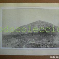 Fotografía antigua: FOTOGRAFIA LAMINA DEL PUIG DE POLLENÇA - 100 AÑOS DE FOTOGRAFIA Nº 86. Lote 222858670