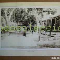 Fotografía antigua: FOTOGRAFIA LAMINA DE LA FUENTE DE LA RAMBLA - 100 AÑOS DE FOTOGRAFIA Nº 87. Lote 222858836