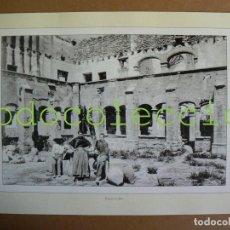 Fotografía antigua: FOTOGRAFIA LAMINA DEL CONVENTO DE JESUS - 100 AÑOS DE FOTOGRAFIA Nº 88. Lote 222858977