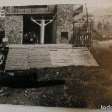 Fotografía antigua: ANTIGUA FOTO FOTOGRAFIA PUERTO DE NAVACERRADA TELESILLA INSTALACIONES AÑOS 60 (20- 11). Lote 222966995