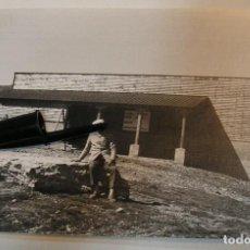 Fotografía antigua: ANTIGUA FOTO FOTOGRAFIA PUERTO DE NAVACERRADA TELESILLA INSTALACIONES AÑOS 60 (20- 11). Lote 222967287