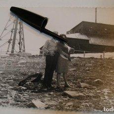 Fotografía antigua: ANTIGUA FOTO FOTOGRAFIA PUERTO DE NAVACERRADA TELESILLA INSTALACIONES AÑOS 60 (20- 11). Lote 222968087