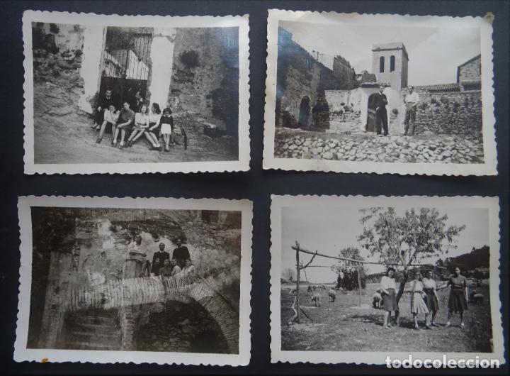 4 FOTOGRAFÍAS REALIZADAS EN SANTA CREU D'OLORDA ( COLLSEROLA, BARCELONA) EL AÑO 1944 (Fotografía - Artística)