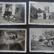 Fotografía antigua: 4 FOTOGRAFÍAS REALIZADAS EN SANTA CREU D'OLORDA ( COLLSEROLA, BARCELONA) EL AÑO 1944. Lote 224109482