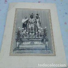 Fotografía antigua: ANTIGUA FOTOGRAFÍA DEL ECCE HOMO DE CÁDIZ, POR IGARTUBURU, 1929. Lote 224577720