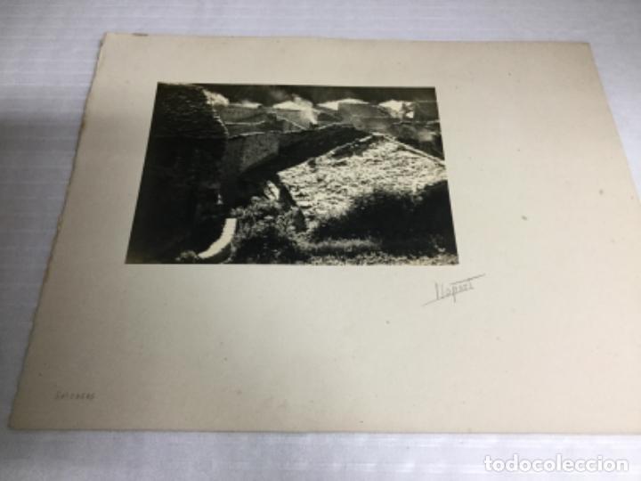 Fotografía antigua: Setcases / Llopart. fotografia: 16,5x23,5 cm. ( Suport 41,5x33 cm). Anys 40 - Foto 2 - 224861778